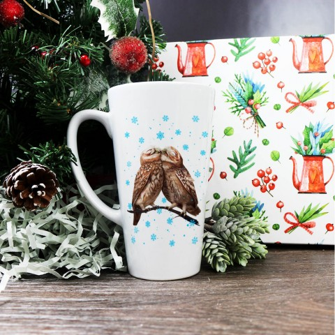 "Латте высокая ""Owl Winter love"" купить за 15.00"