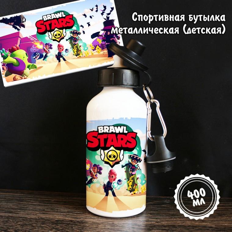 "Спортивная бутылка ""Бравл Старс-6"""