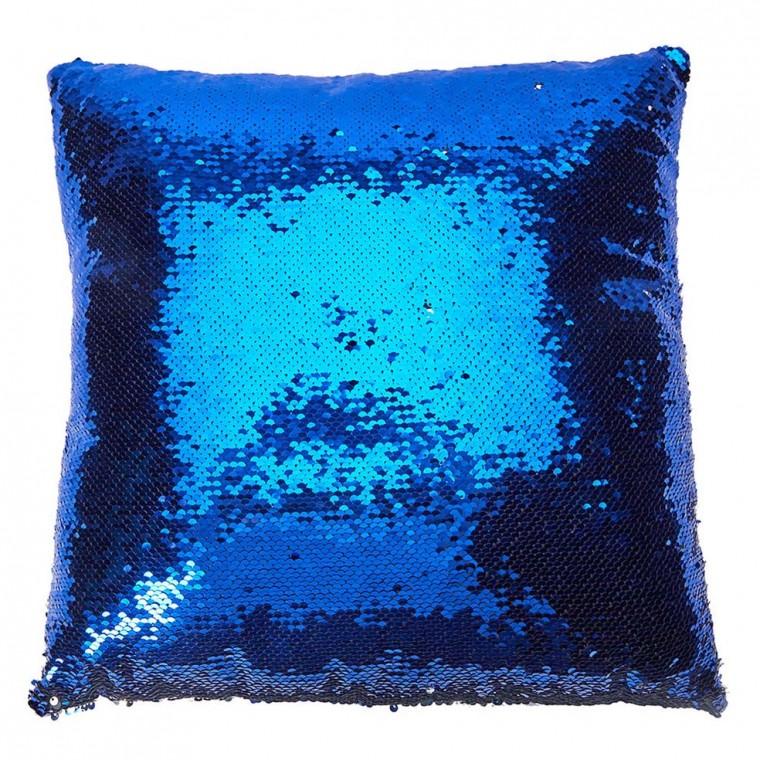 Антистресс подушка 40х40 - синяя